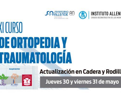 3era Sesión científica ordinaria AAOT / XI Curso OyT Sanatorio Allende