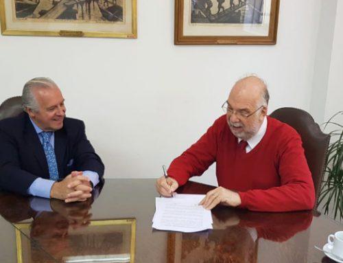 Firma convenio AAOT-UNLP