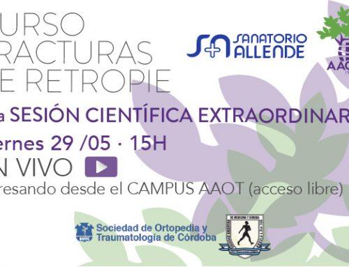 1era Sesión científica extraordinaria AAOT/CÓRDOBA