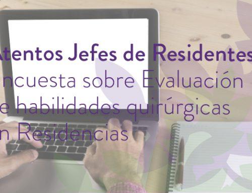 Encuesta sobre Evaluación de habilidades quirúrgicas en Residencias