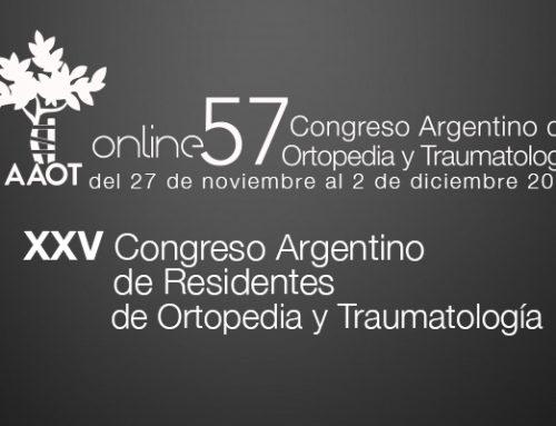 XXV Congreso Argentino de Residentes de O y T