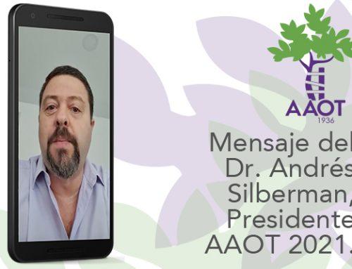 Saludo de nuestro Presidente Dr. Andrés Silberman