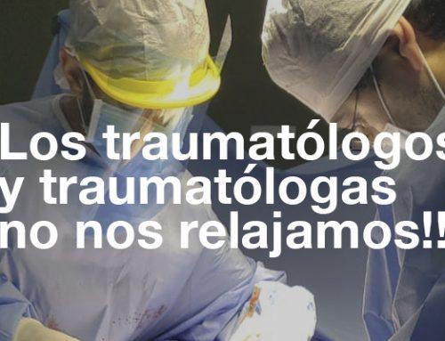 Los traumatólogos y traumatólogas no nos relajamos!!