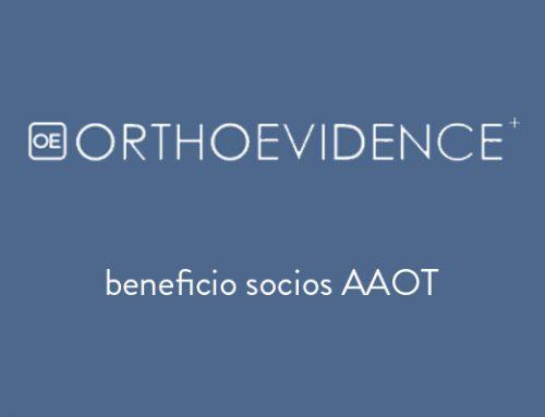Beneficio OrthoEvidence socios AAOT